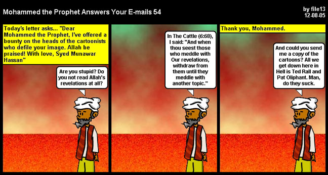 strip Cartoon muhammad
